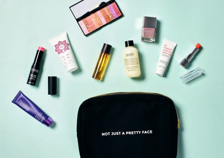 Build your own beauty bag with Latest in Beauty!