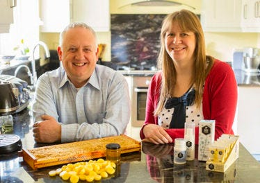 5 Minutes With… Simon & Caroline from Bee Good.