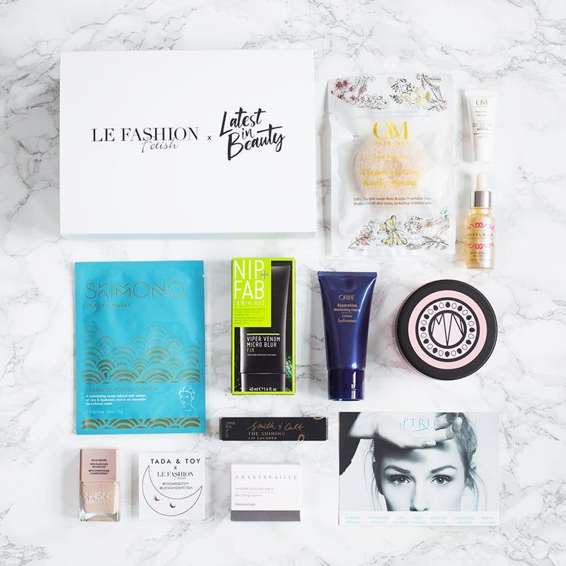 Le Fashion Fetish blogger collab beauty box