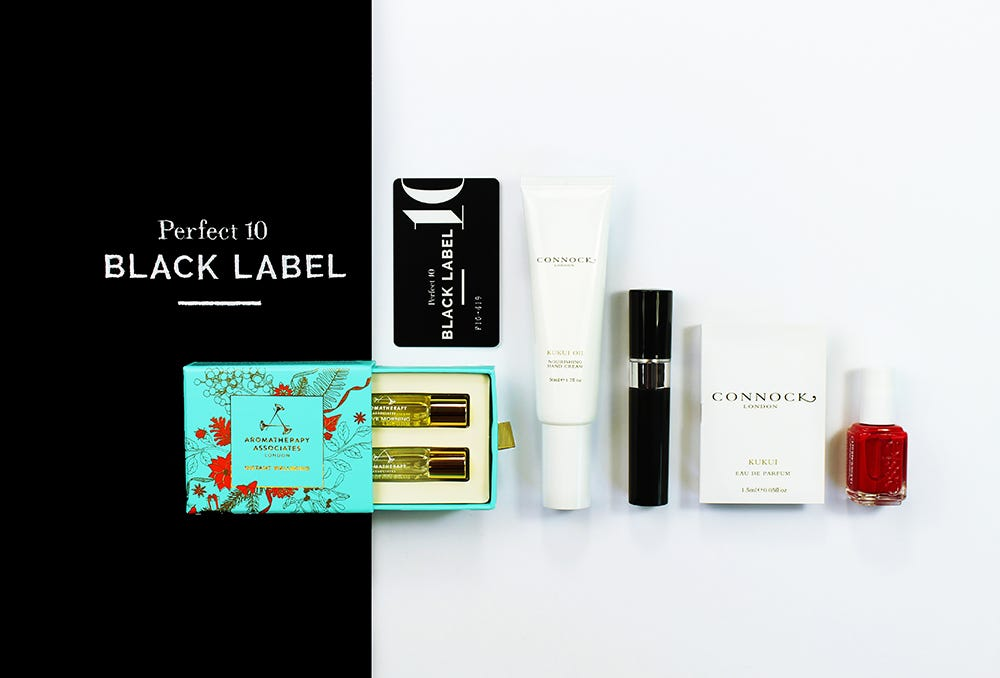 Latest in Beauty x Perfect 10 beauty box