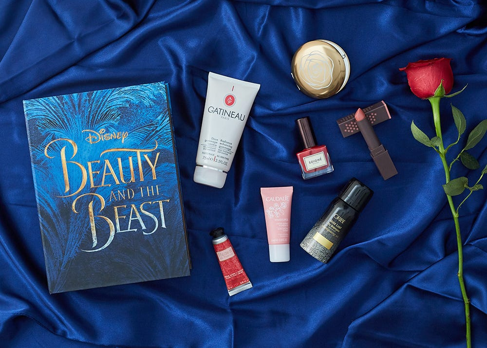 Latest in Beauty x Beauty and the Beast limited edition Disney merchandise