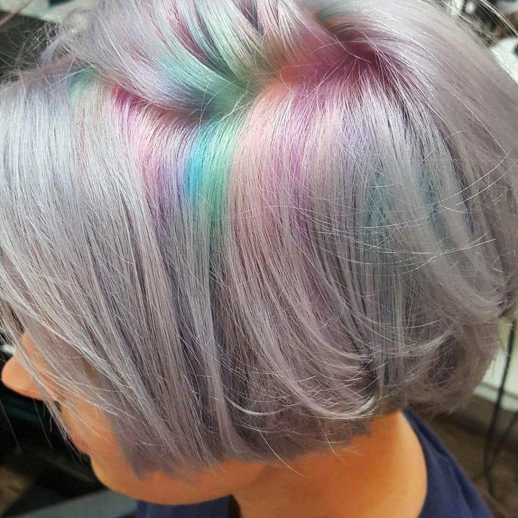 Insta Trend Hidden Rainbow Roots Latest In Beauty Blog