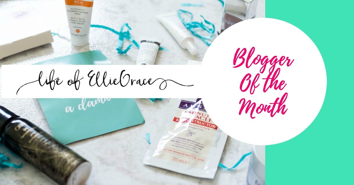 Blogger-of-the-month