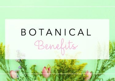 Benefits of botanicals in skincare