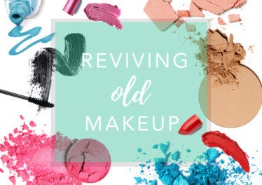 How to… revive old or broken makeup
