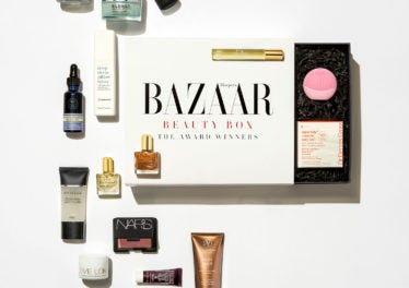 IT'S HERE! The Harper's Bazaar Award Winners Box