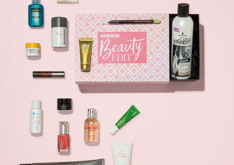 The third Good Housekeeping beauty box is here!