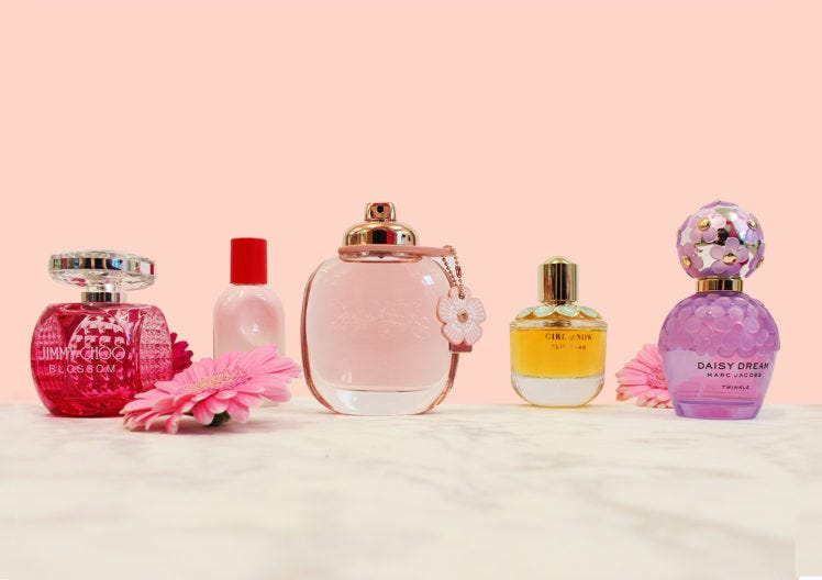 Five fragrances you need for Spring!