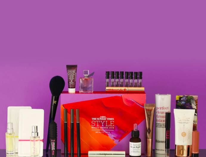 Build your own Sunday Times Style Beauty Awards Box