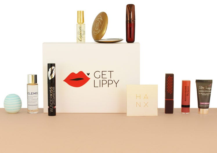 #GetLippy with our new beauty box!