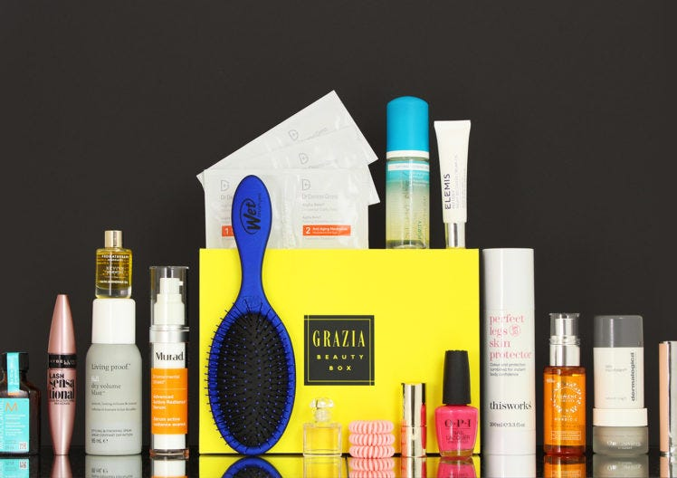 The debut Grazia Beauty Box has launched!