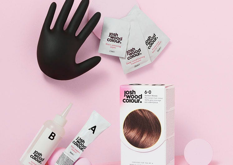 The ultimate head-turning hair colour system