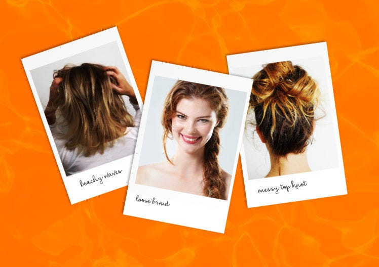 Three Easy hairstyles to see you through Summer