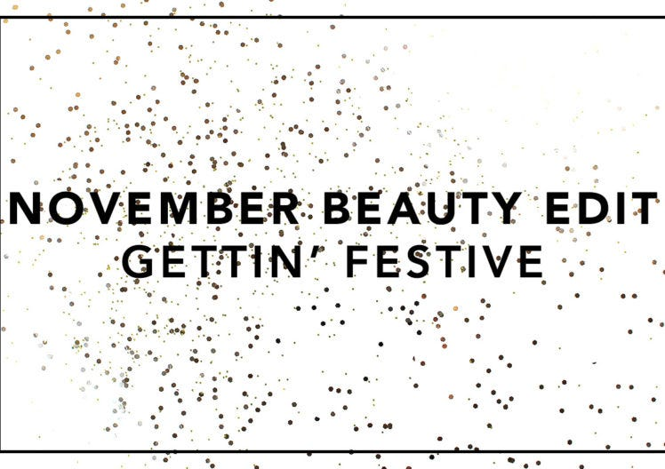 It's November and we're feeling festive!
