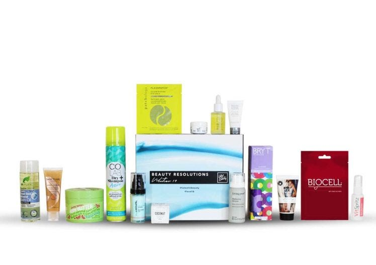 Start the New Year with our Beauty Resolutions box!