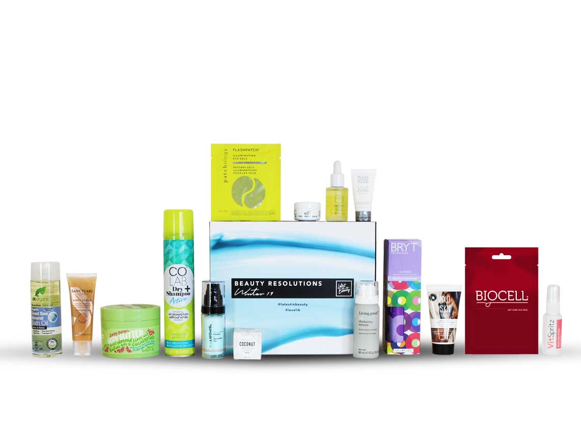 Latest in Beauty Beauty Resolutions Box