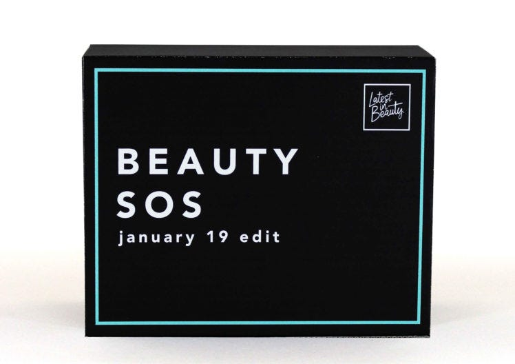 January's Beauty SOS Edit has landed