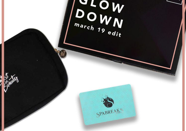 March's Build your Own Box Member rewards