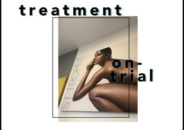 Treatment on Trial: Palest Editor tries the darkest St.Tropez Spray Tan