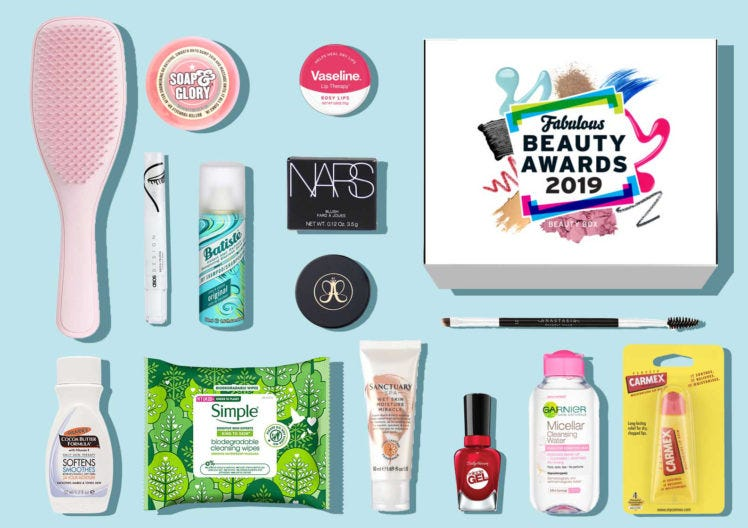 Fabulous Beauty Awards Box 2019 has landed!