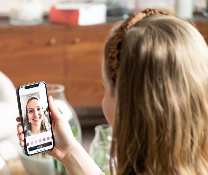 John Lewis Augmented Reality Lipstick