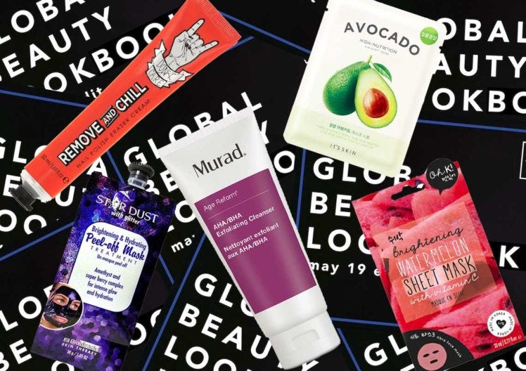 GLOBAL BEAUTY LOOKBOOK ROUND UP