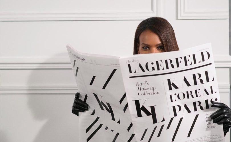 loreal-paris-karl-lagerfeld
