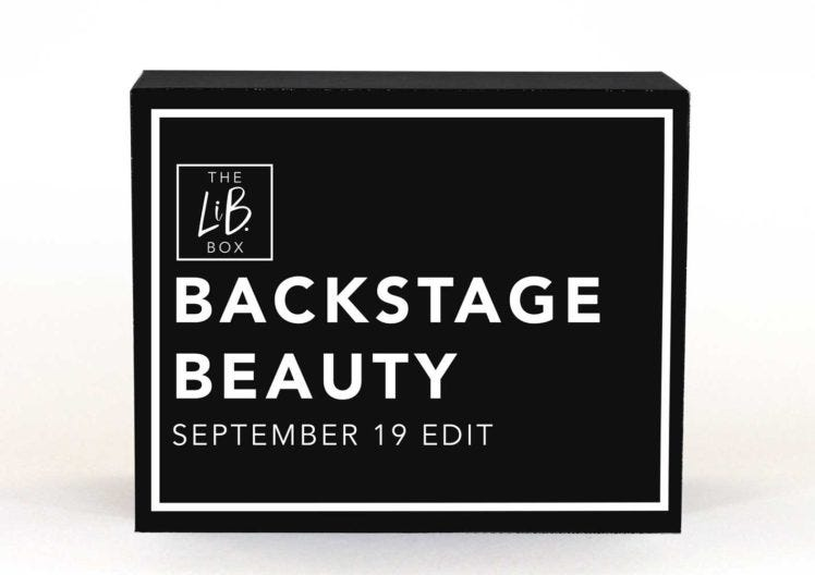 Our Backstage Beauty Edit is revealed!