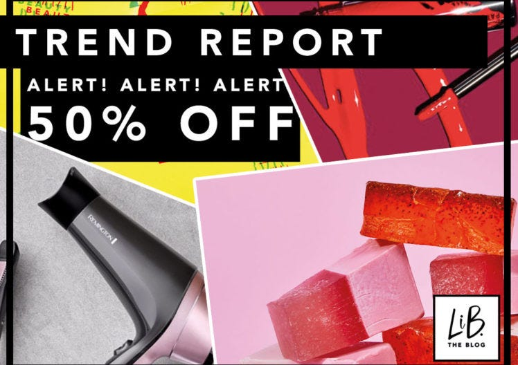 TREND REPORT: SOAP & GLORY DEBUTS SOAP + BLACK FRIDAY