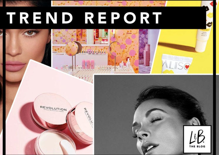 TREND REPORT: GLOSSIER LONDON RETURNS + BEAUTY NEWNESS