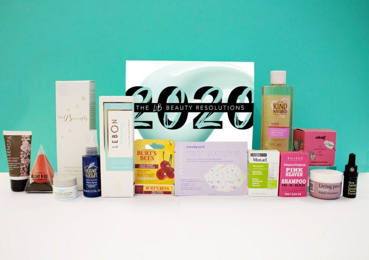THE BEAUTY RESOLUTIONS 2020 EDIT!