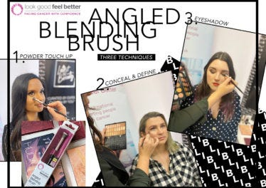 HOW TO USE YOUR LGFB ANGLED BLENDING BRUSH