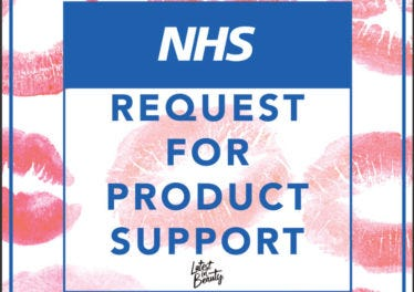 COVID-19 NHS REQUEST FOR PRODUCT SUPPORT PAGE