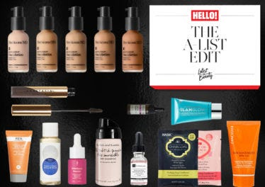 JOIN THE A-LIST WITH THE HELLO A-LIST BEAUTY EDIT