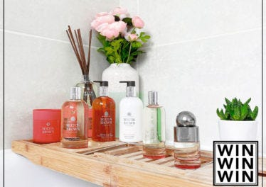 WIN The Ultimate At-home Self-care Moment with Molton Brown