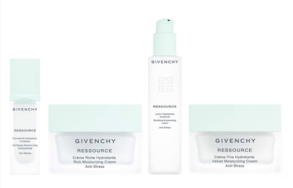 Givenchy's new Ressource skincare lline