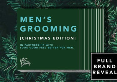 All the Brands Inside the Men's Grooming – Christmas Edition Box