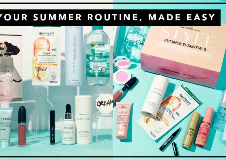 YOUR SUMMER ROUTINE, MADE EASY