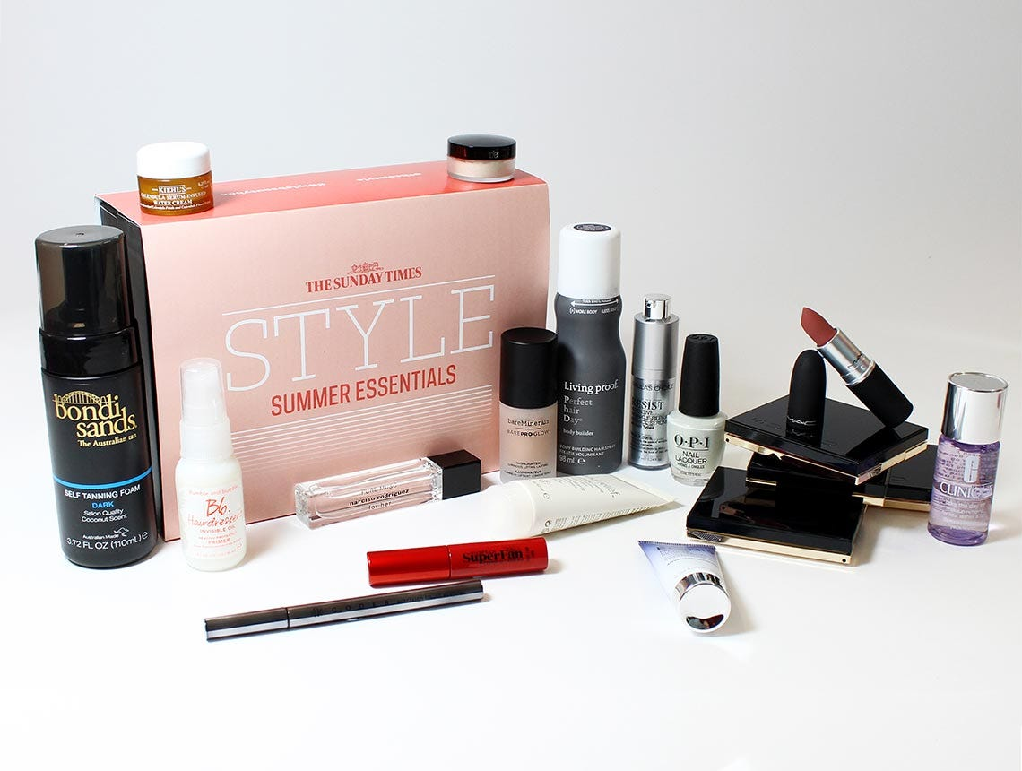 6e9386339f2 Featuring 16 products worth £229 (5 FULL SIZES), this must-have edit of  luxe summer beauty staples includes everything you need to see you through  ...