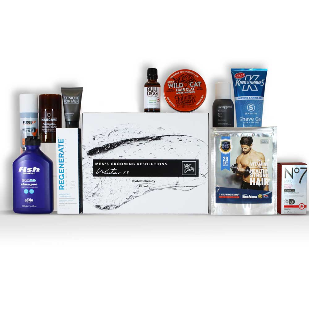 MEN'S GROOMING RESOLUTIONS