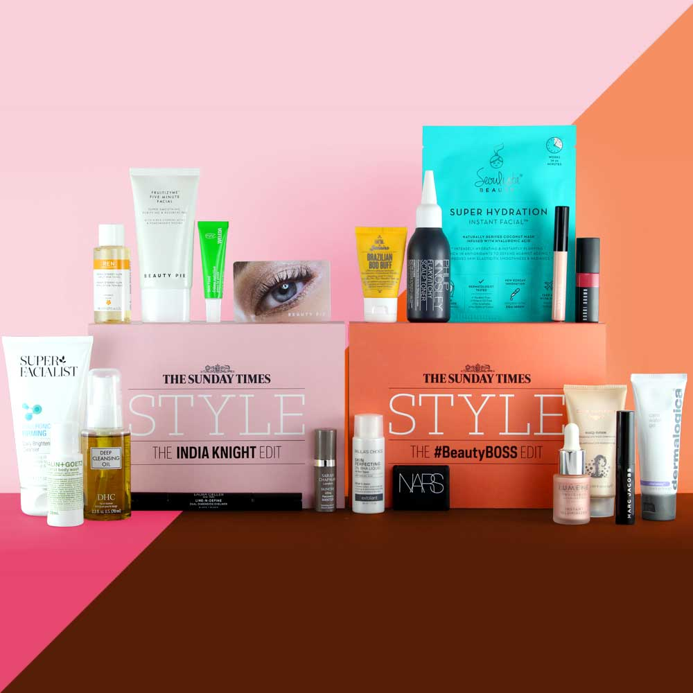 THE SUNDAY TIMES STYLE BEAUTY BOXES